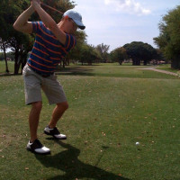 golf swing take-away drill