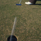 Holing Putts
