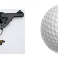 golf ball gun