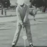 Ben Hogan Face On Swing