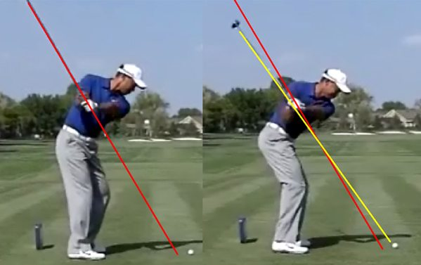 Tiger Woods Consistent Swing Plane