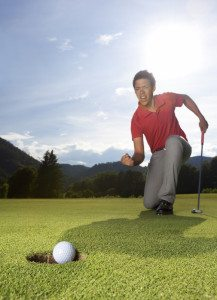 Find out how to improving your putting without practicing.