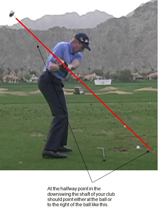 Golf Swing Transition, Downswing And Impact | ConsistentGolf com