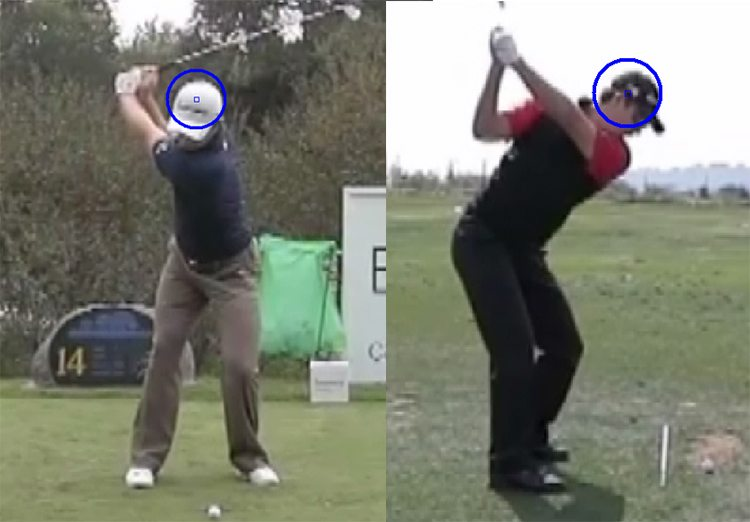 Justin Rose Top Of Backswing Position